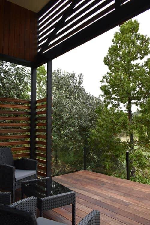Kauri Tree balcony